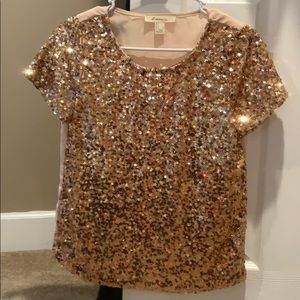 Sequin/ glitter blouse